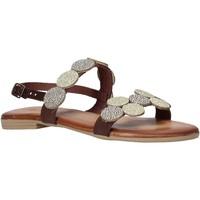 Schuhe Damen Sandalen / Sandaletten Dorea MH114 Braun