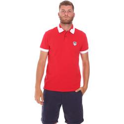 Kleidung Herren Polohemden Ea7 Emporio Armani 3KPF07 PJ04Z Rot