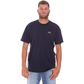 Kleidung Herren T-Shirts Ea7 Emporio Armani 3KPT13 PJ02Z Blau