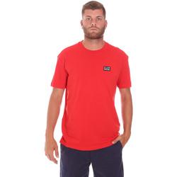 Kleidung Herren T-Shirts Ea7 Emporio Armani 3KPT63 PJ6EZ Rot