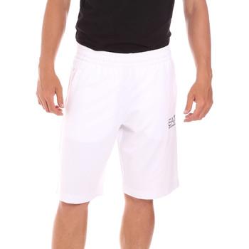 Kleidung Herren Badeanzug /Badeshorts Ea7 Emporio Armani 3KPS59 PJ05Z Weiß