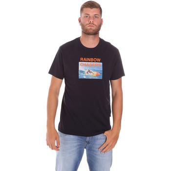 Kleidung Herren T-Shirts Sundek M047TEJ7800 Schwarz