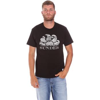 Kleidung Herren T-Shirts Sundek M027TEJ78ZT Schwarz