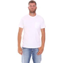 Kleidung Herren T-Shirts Sundek M050TEJ9300 Weiß