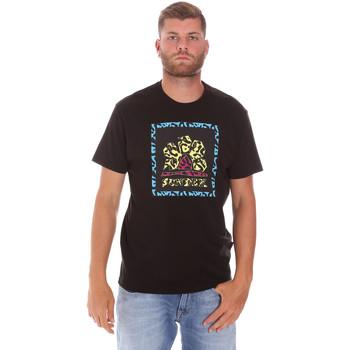 Kleidung Herren T-Shirts Sundek M021TEJ78FL Schwarz