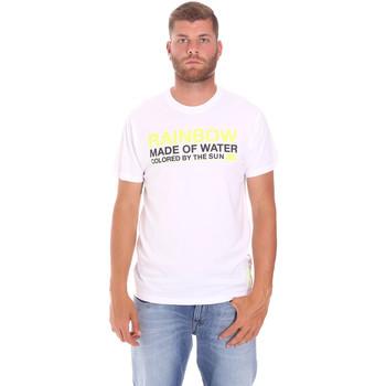 Kleidung Herren T-Shirts Sundek M058TEJ7800 Weiß