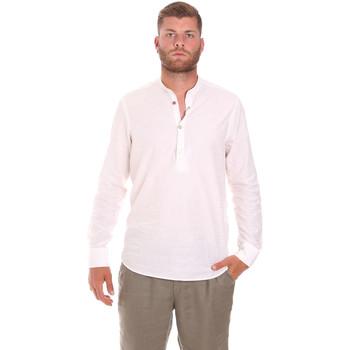 Kleidung Herren Langärmelige Hemden Sseinse CE611SS Weiß