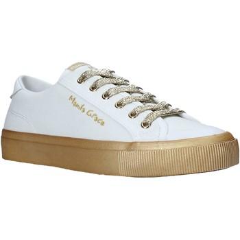 Schuhe Damen Sneaker Low Manila Grace S634CU Weiß