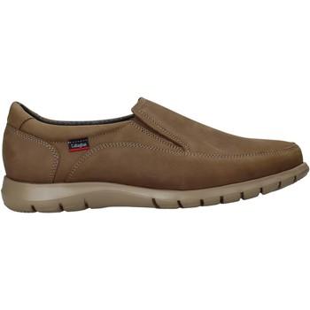 Schuhe Herren Slip on CallagHan 81311 Braun