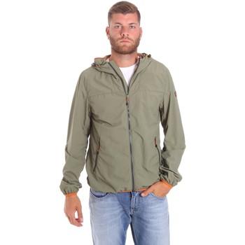 Kleidung Herren Jacken Lumberjack CMB3223 001EU Grün