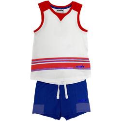 Kleidung Kinder Kleider & Outfits Diadora 102175915 Weiß