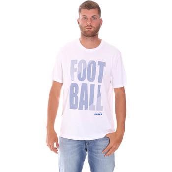 Kleidung Herren T-Shirts Diadora 102175854 Weiß