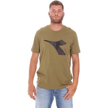 Kleidung Herren T-Shirts Diadora 102175852 Grün