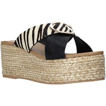 Schuhe Damen Pantoffel Gold&gold A21 GK98 Schwarz