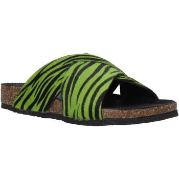 Schuhe Damen Pantoffel Bionatura 10A2118-I-CAVERN Grün