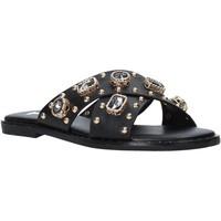 Schuhe Damen Pantoffel Gold&gold A21 GJ559 Schwarz