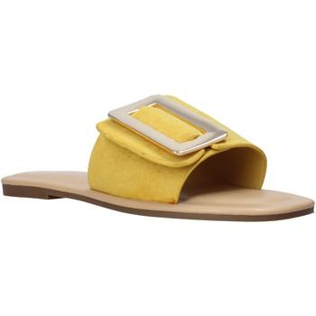 Schuhe Damen Pantoffel Gold&gold A21 GJ551 Gelb
