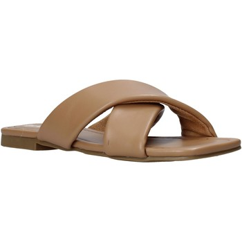 Schuhe Damen Pantoffel Gold&gold A21 GY221 Braun