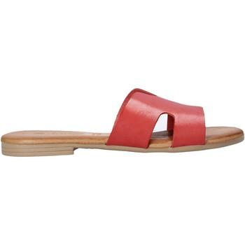 Schuhe Damen Pantoffel Dorea MH102 Rot