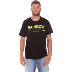 Kleidung Herren T-Shirts Sundek M058TEJ7800 Schwarz