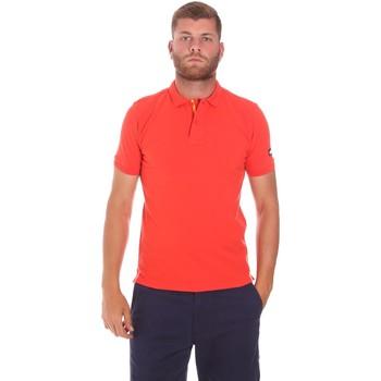 Kleidung Herren Polohemden Sundek M791PLJ6500 Rot
