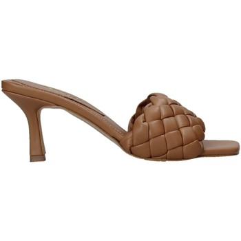 Schuhe Damen Pantoffel Grace Shoes 395R015 Braun