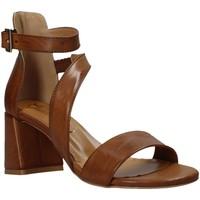 Schuhe Damen Sandalen / Sandaletten Grace Shoes 380034 Braun