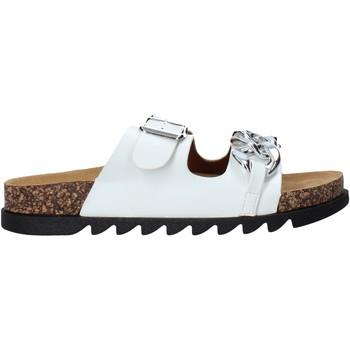Schuhe Damen Pantoffel Gold&gold A21 FL160 Weiß