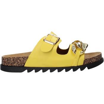 Schuhe Damen Pantoffel Gold&gold A21 FL160 Gelb