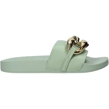 Schuhe Damen Pantoffel Gold&gold A21 FL162 Grün