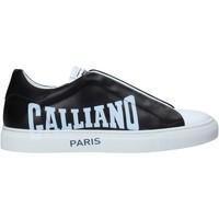Schuhe Herren Sneaker Low John Galliano 11007/CP B Schwarz