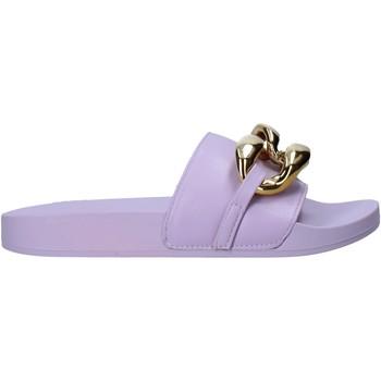 Schuhe Damen Pantoffel Gold&gold A21 FL162 Violett