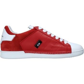 Schuhe Herren Sneaker Low Costume National 10410/CP C Rot