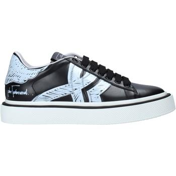Schuhe Herren Sneaker Low John Richmond 1385 B Schwarz