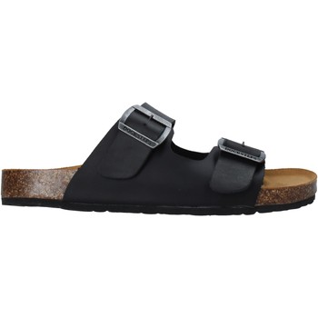 Schuhe Herren Pantoffel Docksteps DSM228600 Schwarz