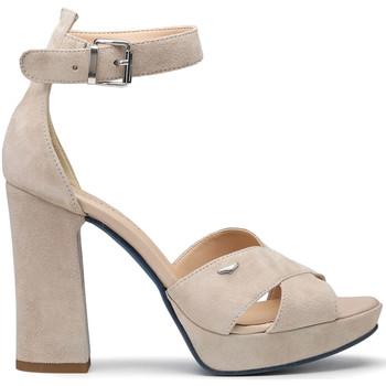 Schuhe Damen Sandalen / Sandaletten Alberto Guardiani AGW002700 Beige