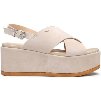 Schuhe Damen Sandalen / Sandaletten Alberto Guardiani AGW003000 Beige