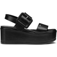 Schuhe Damen Sandalen / Sandaletten Alberto Guardiani AGW003105 Schwarz