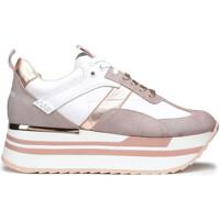 Schuhe Damen Sneaker Low Alberto Guardiani AGW004302 Weiß