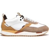 Schuhe Herren Sneaker Low Alberto Guardiani AGU101061 Weiß