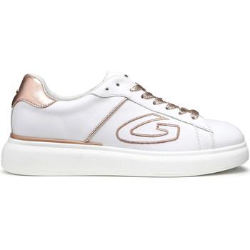 Schuhe Damen Sneaker Low Alberto Guardiani AGU101126 Weiß