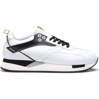 Schuhe Herren Sneaker Low Alberto Guardiani AGU101155 Weiß