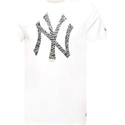 Kleidung Herren T-Shirts New-Era 12369838 Weiß