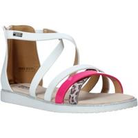Schuhe Mädchen Sandalen / Sandaletten Miss Sixty S20-SMS768 Weiß