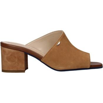 Schuhe Damen Pantoffel Alberto Guardiani AGW003301 Braun