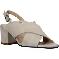 Schuhe Damen Sandalen / Sandaletten Alberto Guardiani AGW003400 Beige