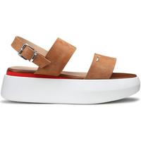 Schuhe Damen Sandalen / Sandaletten Alberto Guardiani AGW004101 Beige