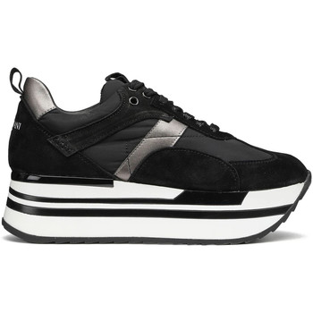 Schuhe Damen Sneaker Low Alberto Guardiani AGW004303 Schwarz