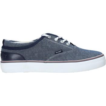 Schuhe Herren Sneaker Low Wrangler WM01020A Blau