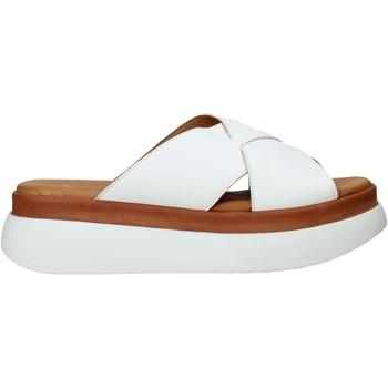 Schuhe Damen Pantoffel Sshady L2206 Weiß